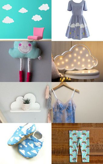 CLOUDS! by Katarzyna Bialik on Etsy--Pinned with TreasuryPin.com