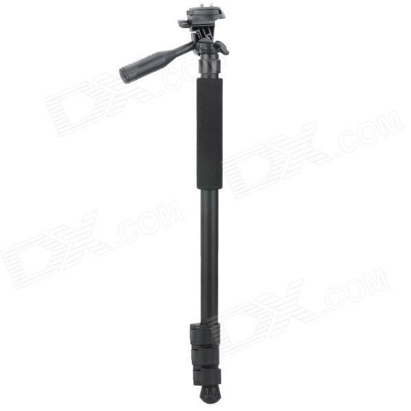 "Model: 1002; Qty: 1 piece(s) per pack; Color: Black; Material: Aluminum alloy; Socket Size: 1/4 "" (Canon 6D/5D 2/5D 3/ Nikon D5100 / D600 / D800 / D7000 + more); Max Load: 3 kg; Max Height: 160 cm; Min Height: 50 cm; Packing List: 1 x Monopod; : 1 x Carrying bag; http://j.mp/1toxINO"