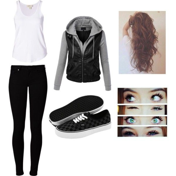 """Simple Vans outfit  """"This Is Me"""" by ksh006798 on Polyvore"""