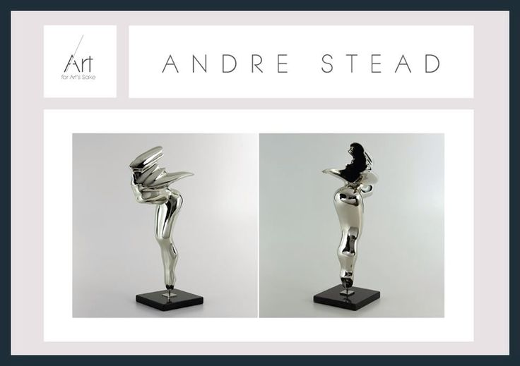 Andre Stead.  For more info, detailed photos or a viewing of the work you like available and worth investing in, please contact Me for more info. bit.ly/AFAShome #ArtForArtsSake #AndreStead #sculpture #art