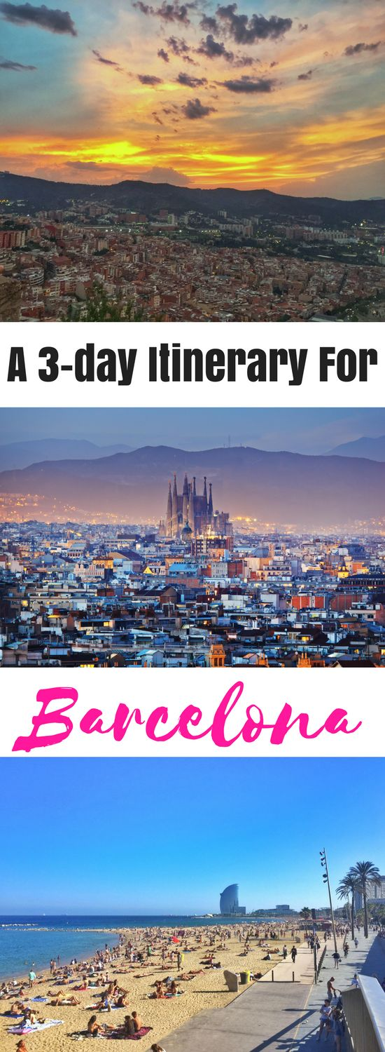 3-days in Barcelona? Check what to do and see with this Barcelona itinerary!