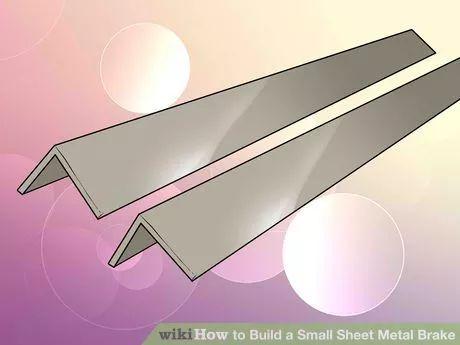 Image titled Build a Small Sheet Metal Brake Step 2