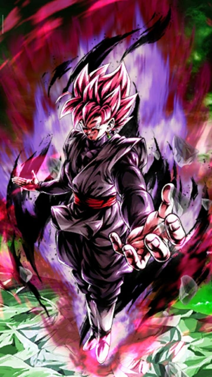 Goku Black Rose Wallpaper 4k Iphone