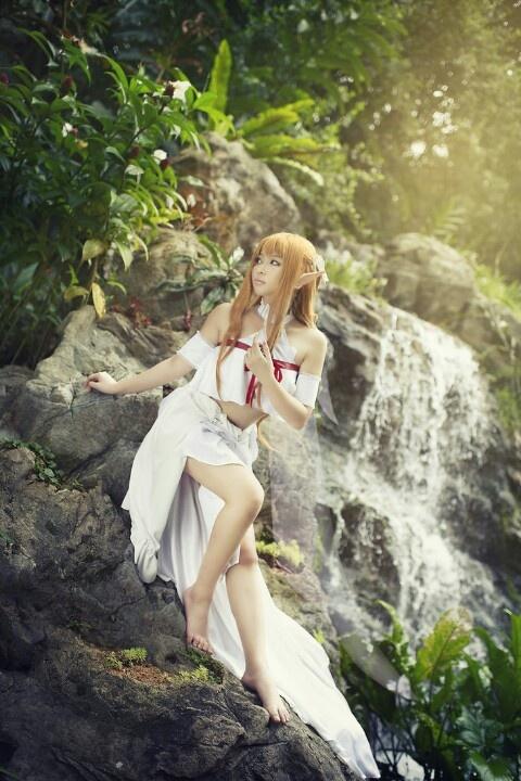 Asuna cosplay - Sword Art Online