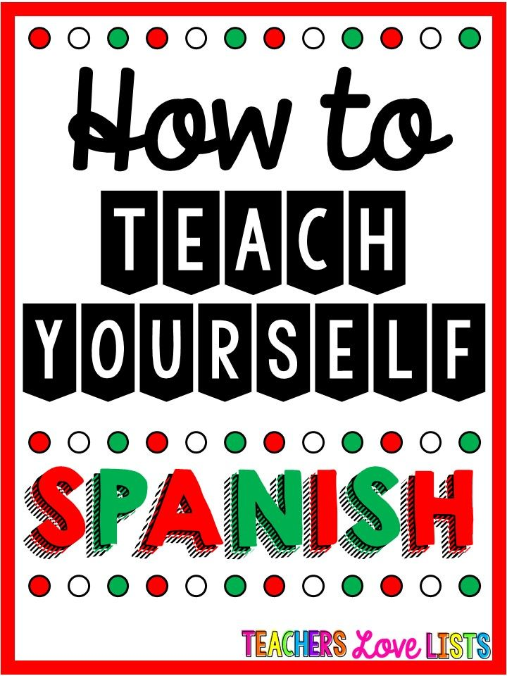 Best ways to learn spanish at home