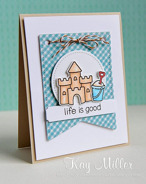 great group of simple cards by kay using lawn fawn products