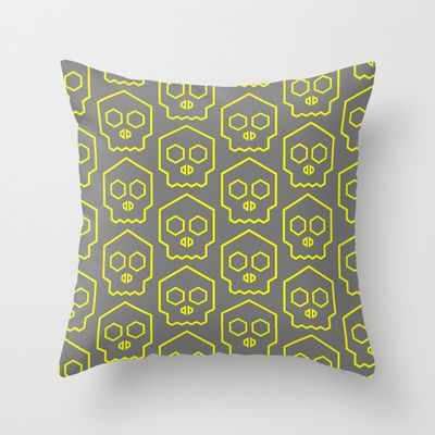 Hex Throw Pillow by emma method - $20.00