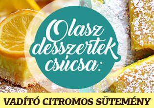 Olasz desszertek csúcsa: Vadító citrompite, amit csak imádni lehet