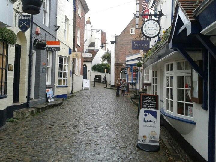 Lymington town and marina, Hampshire