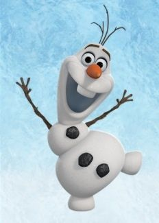 Olaf the Snowman...my new favorite Disney character!