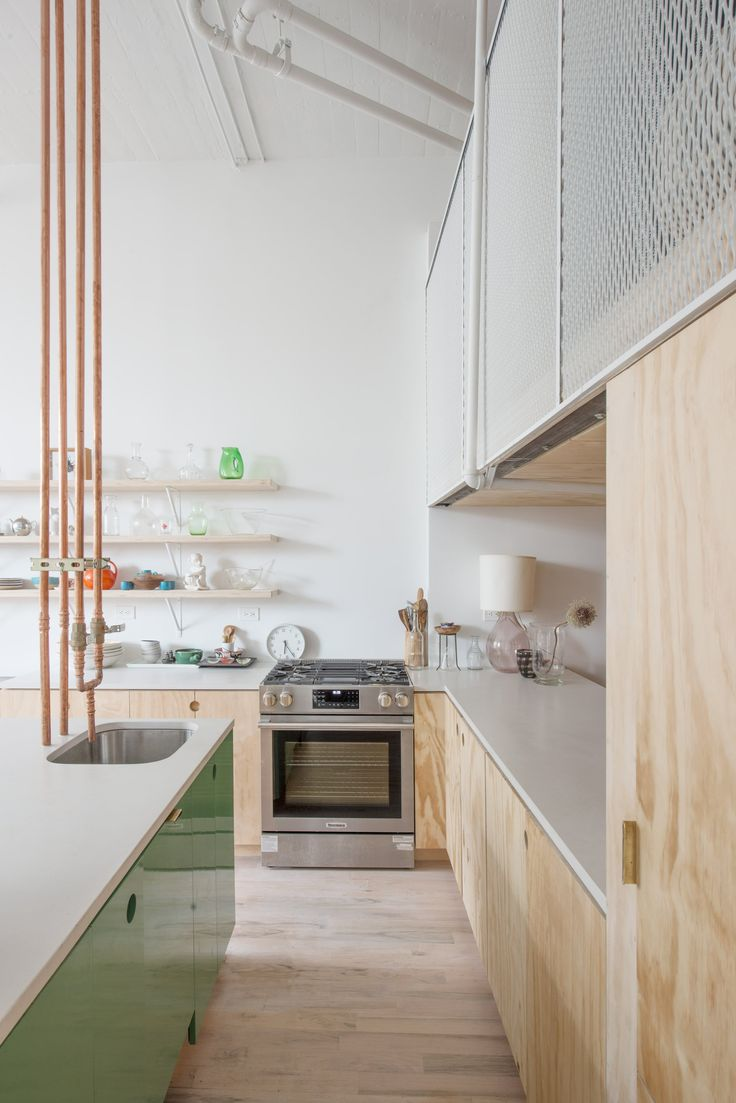 The overhauled home takes up 750 square feet (70 square metres) of a former industrial space in the increasingly trendy neighbourhood of Bedford-Stuyvesant, often shortened to Bed-Stuy.