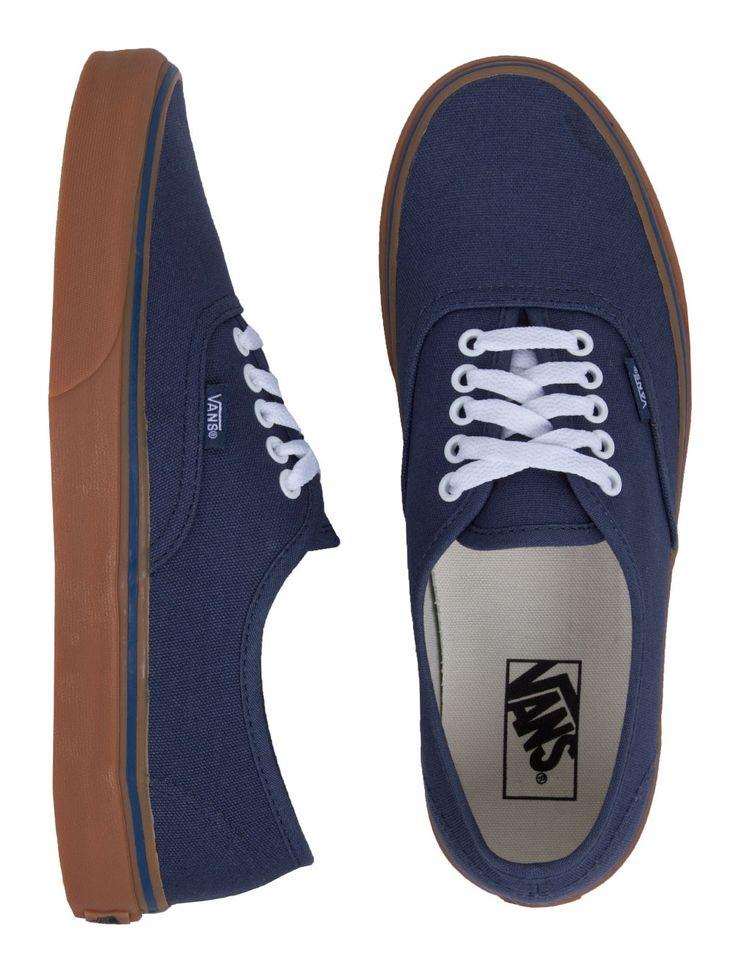 Vans Authentic Shoes - Dark Denim/Gum I
