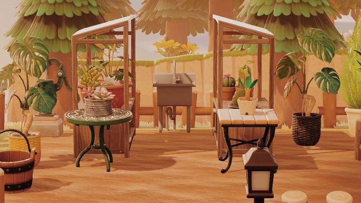 Animal Crossing Patio Design