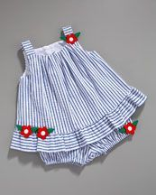 striped dress and bloomers for baby girl  ...and this is why i want a girl <3