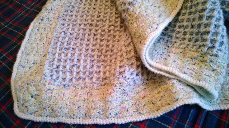 Crochet Baby Blanket, Waffle Stitch Crochet Pinterest