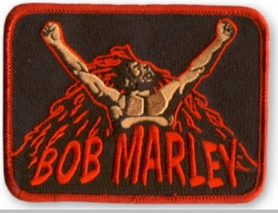 Bob Marley Uprising Patch<!-- Click to Enlarge-->