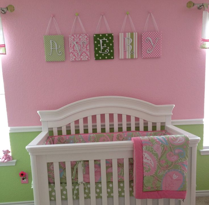 25 best ideas about pink and green nursery on pinterest green nursery girl pink green. Black Bedroom Furniture Sets. Home Design Ideas