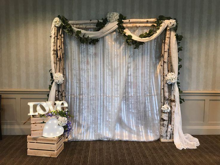 Rustic wedding arch by www.chuppah.ca #sdhevents