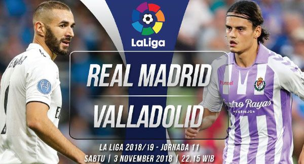 Real Madrid Vs Real Valladolid Real Madrid Madrid Valladolid