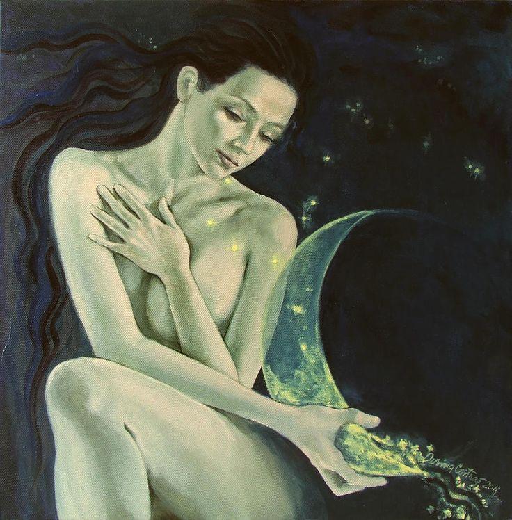 'Aquarius' by Dorina Costras. Click for larger size.