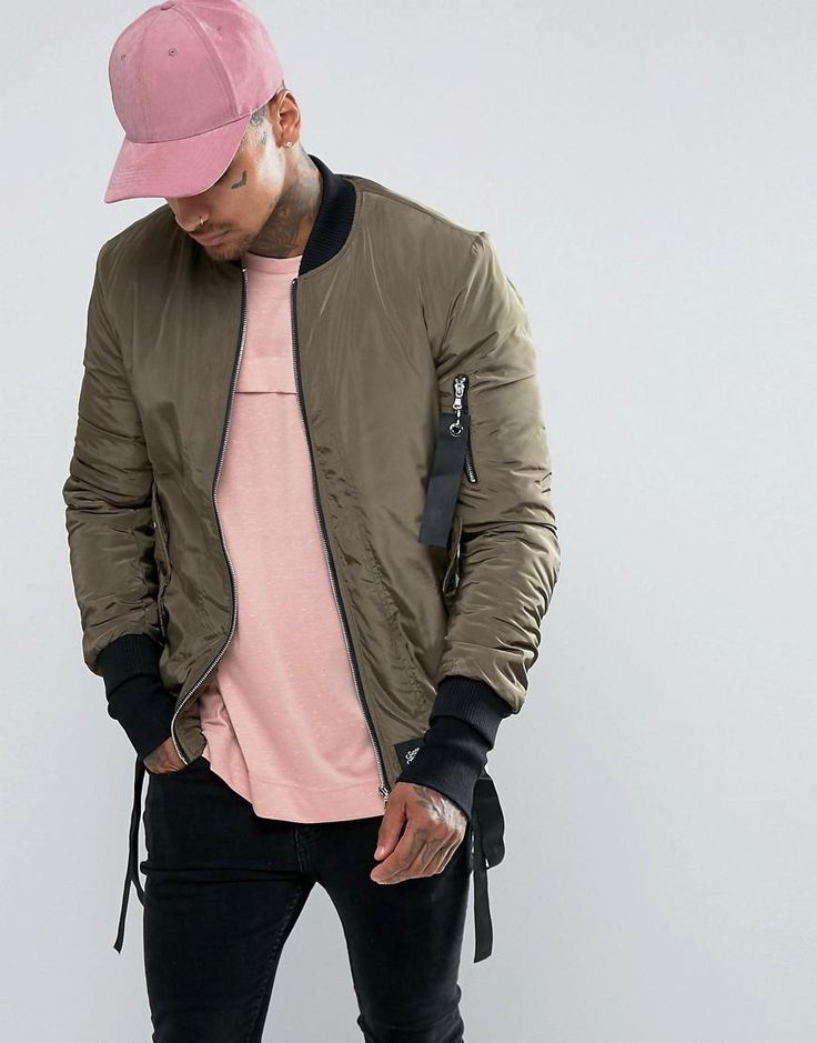 Sixth June | Sixth June Bomber Jacket With Detachable Straps at ASOS