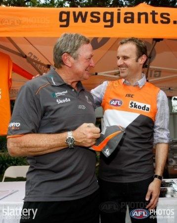 with AFL Legend Kevin Sheedy