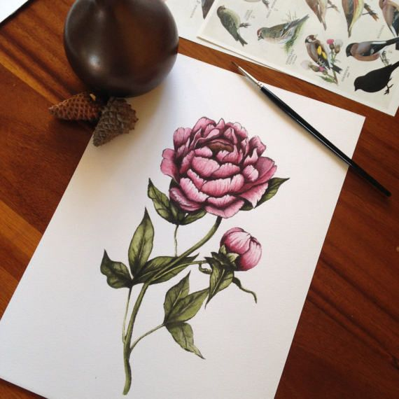 Hey, I found this really awesome Etsy listing at https://www.etsy.com/uk/listing/502423064/flower-art-floral-art-peony-art-print