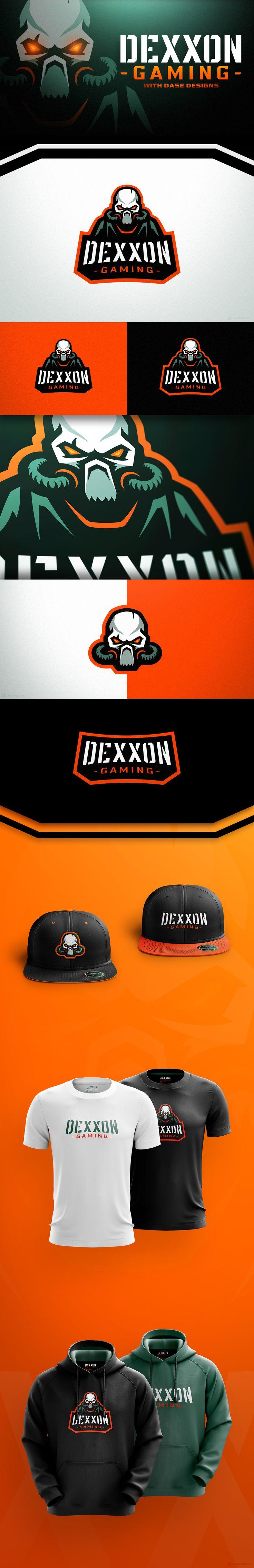 Gas Mask Logo Dexxon Gaming on Behance