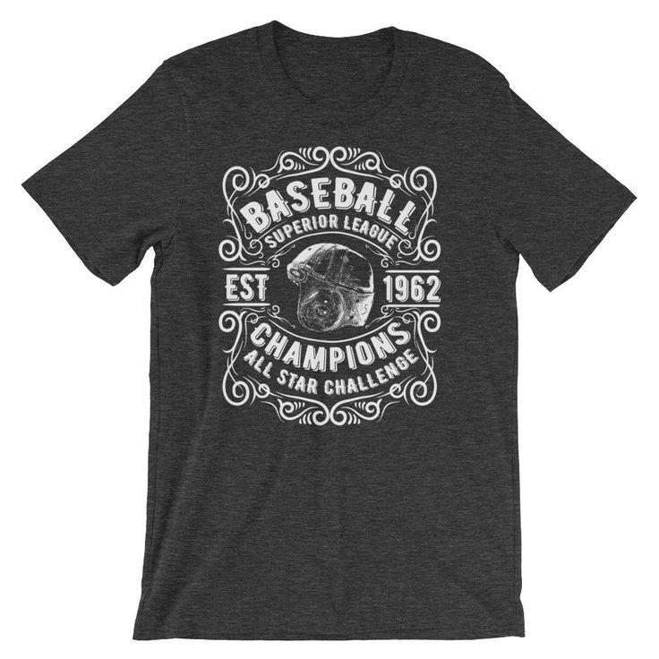 Baseball Short-Sleeve Unisex T-Shirt