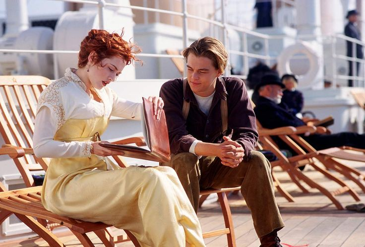 Kate and Leo in Titanic