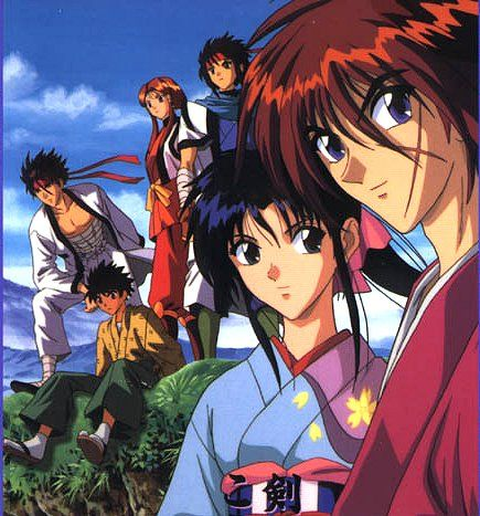 Rurouni Kenshin - Arguably one of the best samurai shows. Grate story with heart and with a protagonist that is instantly loveable for his duality (humbleness/deadly killer).