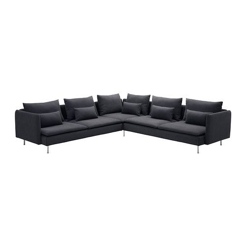 SÖDERHAMN Corner sofa IKEA The various sections of the seating series can be connected together in different combinations or used separately.