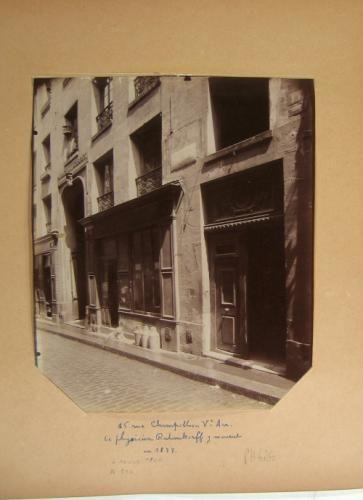 Hôtel, 15 rue Champollion (ancienne rue des Maçons), 5ème arrondissement, Paris | Paris Musées