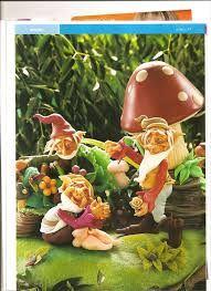 Resultado de imagen para muñecos hechos en porcelanicron