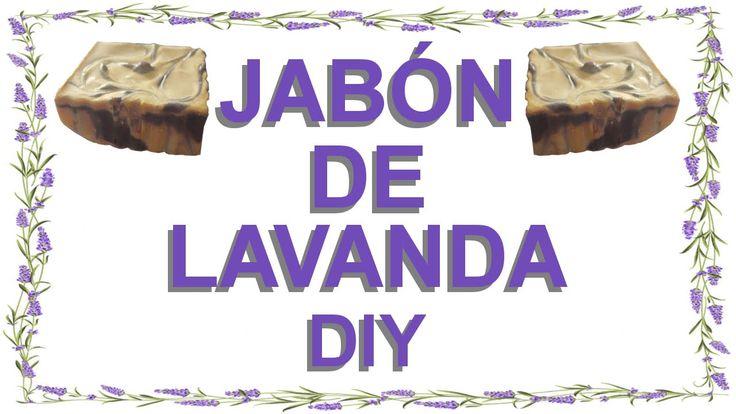 Cómo hacer Jabón de Lavanda casero | Receta de Jabón DIY