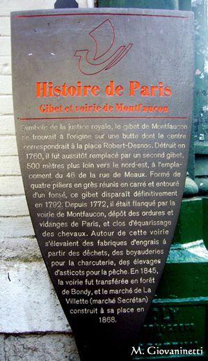 Le gibet de Montfaucon
