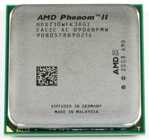 Free Shipping Phenom II X3 710 2.6Ghz L3=6MB Triple-Core Processor Socket AM3 938-pin