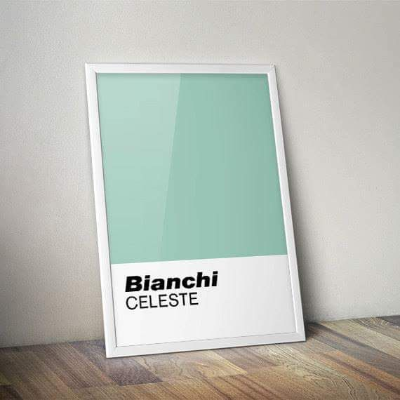 mooiefietsennicebikes:  Bianchi  celeste
