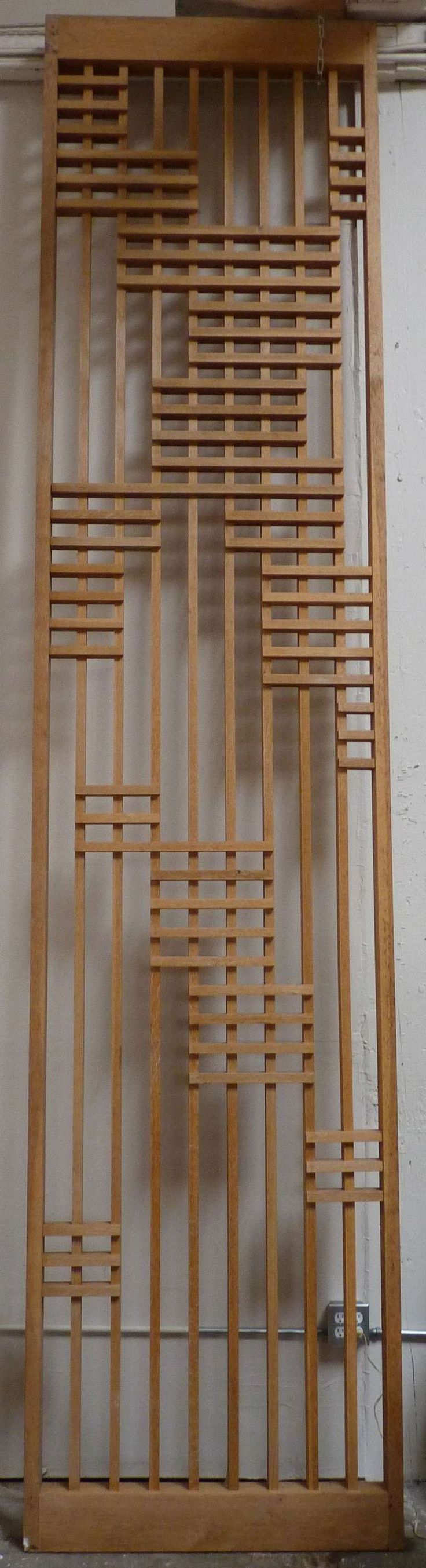 Pair of Monumental Architectural Screen Panels from a Modern San Diego Church   From a unique collection of antique and modern architectural elements at http://www.1stdibs.com/furniture/building-garden/architectural-elements/