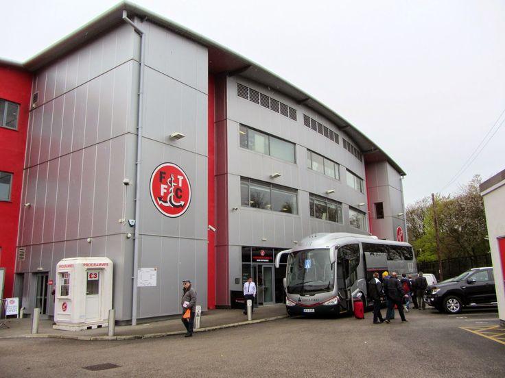 Highbury Stadium - External - Fleetwood Town FC