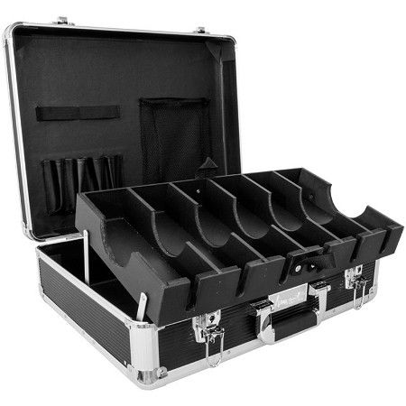 Vincent Large Master Case - Black #VT10142-BK $139.95  Visit www.BarberSalon.com One stop shopping for Professional Barber Supplies, Salon Supplies, Hair & Wigs, Professional Products. GUARANTEE LOW PRICES!!! #barbersupply #barbersupplies #salonsupply #salonsupplies #beautysupply #beautysupplies #hair #wig #deal #promotion #sale #vincent #barbercase