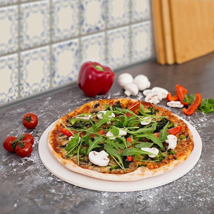 #Pizzasteine liegen voll im Trend - holt euch den Knusperboden wie aus Italien auch nach Hause.