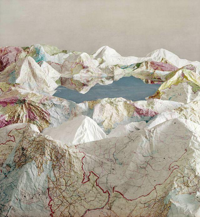 "Civilized Landscape"" - Ji Zhou - Klein Sun Gallery via Junkculture."