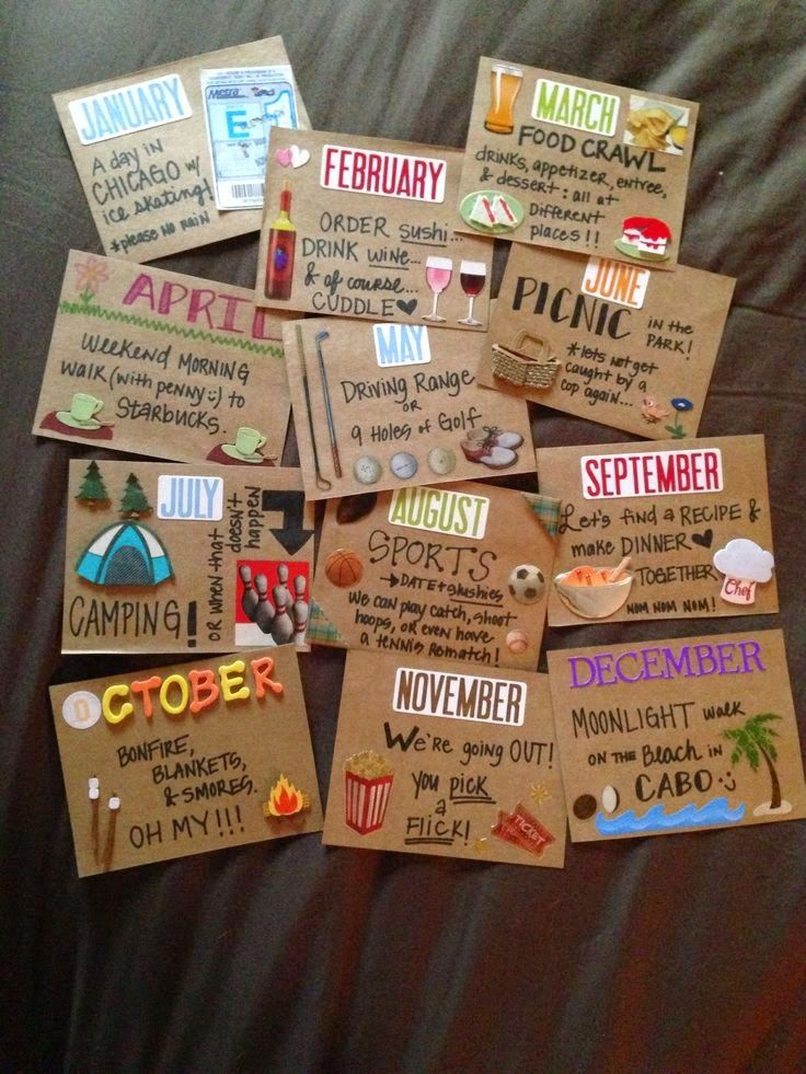 first wedding anniversary gift ideas for husband pinterest%0A Becky and Brittany  DIY Valentines Day Gift Ideas for Him