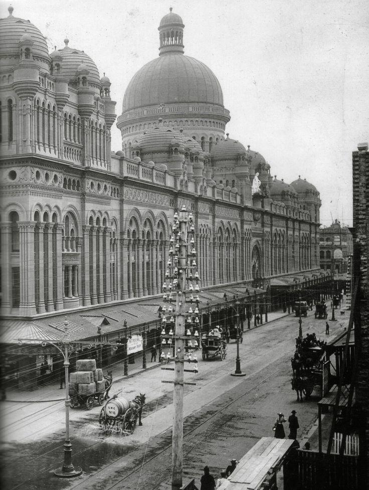 Queen Victoria building 1900