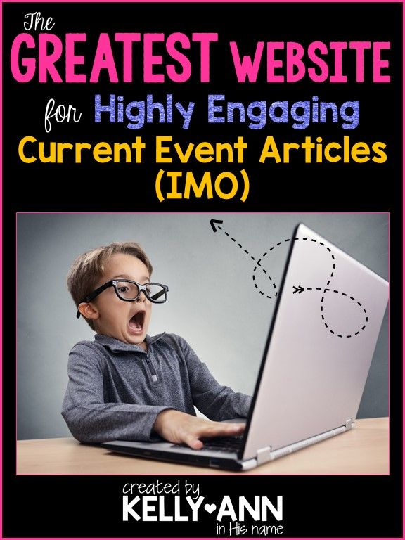 Find out what I use in my classroom to get students excited about current events!