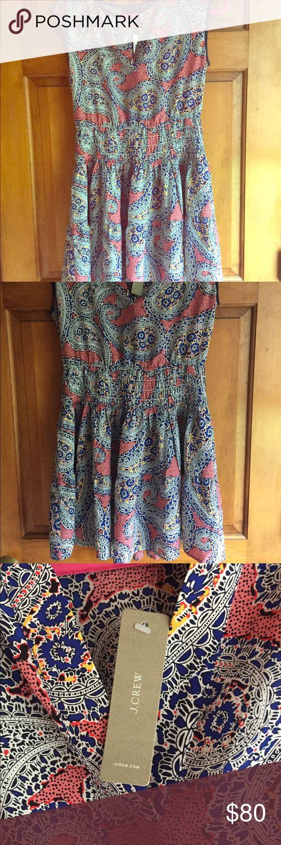 Beautiful silky sundress NWT! Gorgeous short sundress NWT! J crew Dresses Mini