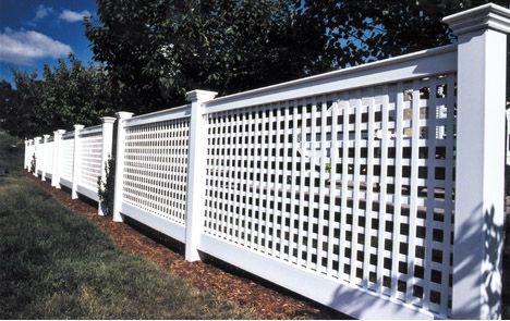 Best 25 White Vinyl Fence Ideas On Pinterest White
