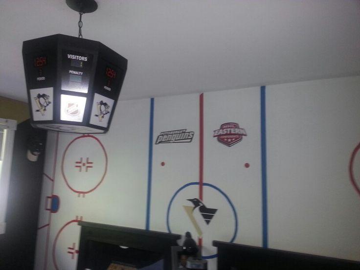 Boys Pittsburg Penguins Room