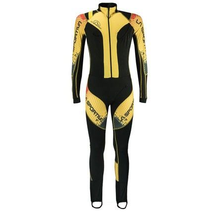 The Syborg Racing Suit combines technical features needed to provide maximum comfort and protection. Next to body fit with stretch fabrics ensure full range of movement and exceptional body climate control to support elite level athletic performance.